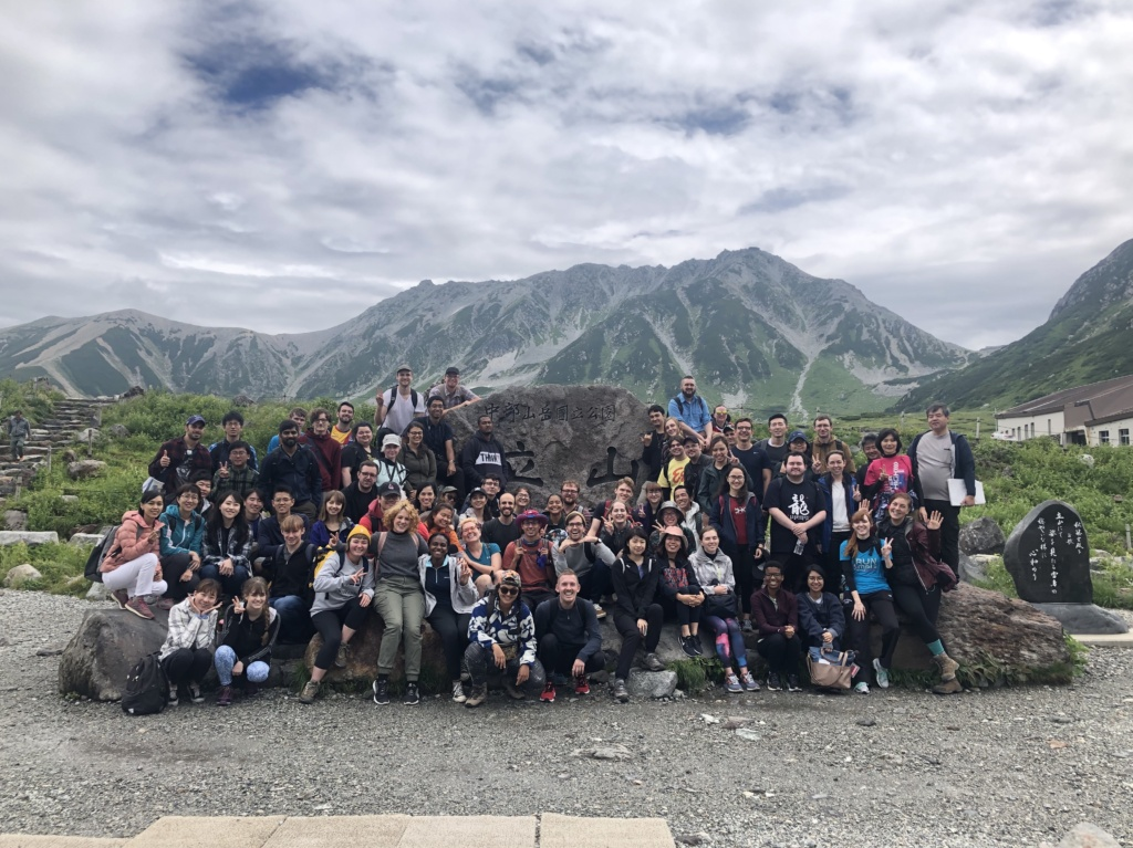Group photo on Tateyama